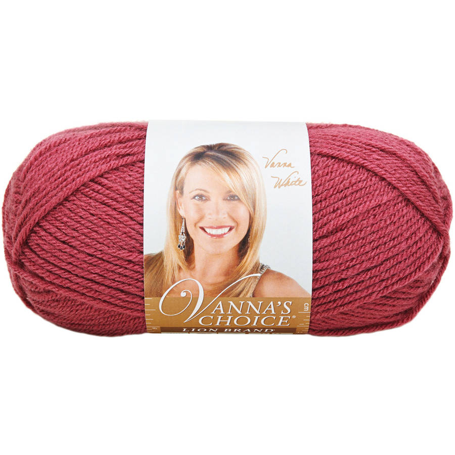 Lion Brand Vanna's Choice Yarn, Available in Multiple Colors