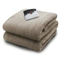 Biddeford Blankets Micro Plush Heated Electric Blanket with Digital Controller