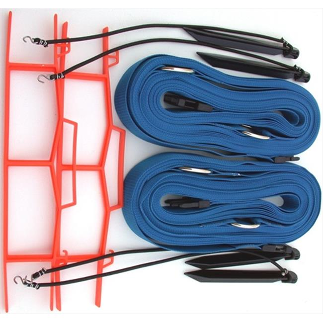 Home Court 19NABUS Blue 2-inch Non-adjustable Web Courtlines