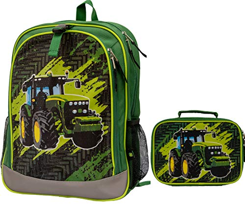 NEW John Deere Green Tractor Insulated Lunch Box LP70703
