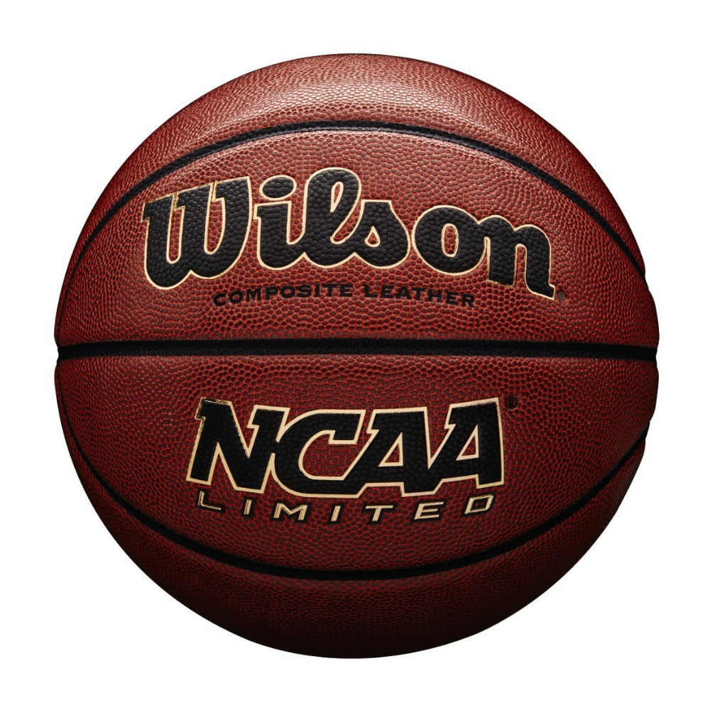 """Wilson NCAA Limited Composite Leather Official Size Basketball (29.5"""") by Wilson Sporting Goods Co."""