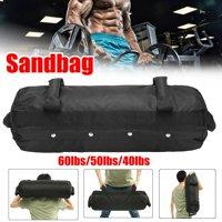 60 lb Heavy Duty Workout Sand Bag Exercise Training Bag for Fitness, Exercise Sandbags, Military Sandbags, Weighted Bags, Heavy Sand Bags, Weighted Sandbag, Fitness Sandbags