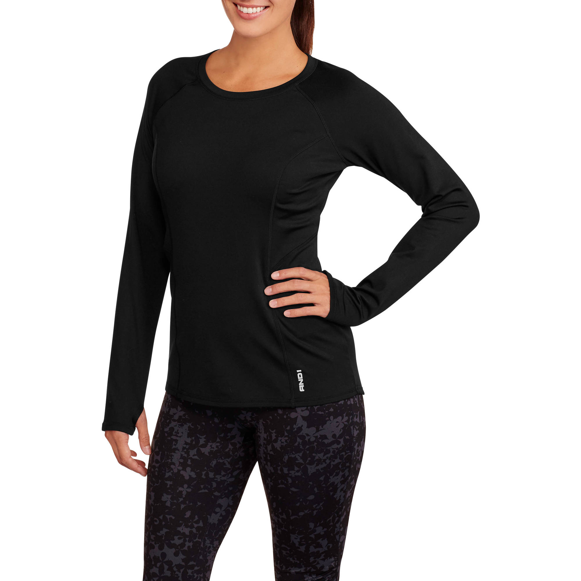 AND1 Women's Triumph Long Sleeve Performance Top