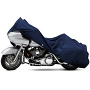 North East Harbor Motorcycle Bike Cover Travel Dust Storage Cover For Harley Road Glide Custom Ultra