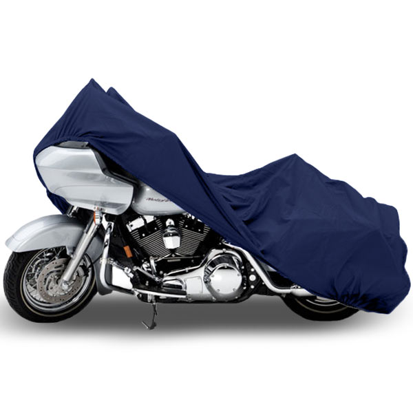 Motorcycle Bike Cover Travel Dust Storage Cover For Harley Road Glide Custom Ultra - image 3 de 3