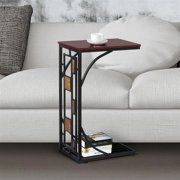 Yaheetech Living Room Sofa Side End Snack Table Tray Stand Rack