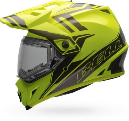 Bell MX-9 Adventure Snow Helmets Medium Yellow/Titanium