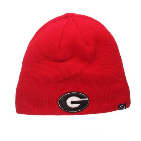 Reversible Georgia Bulldogs UGA Beanie Hat Knit Toboggan - Walmart.com b5d1bfd7c2c