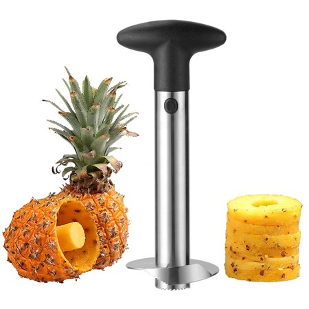 LIVINGbasics Pineapple Slicer Core Cutter Stainless Steel Fruit Cutting Remover Core Tool 1Pc - image 5 of 5