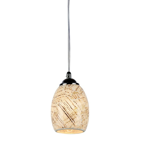 Melia Mosaic 1 Light Ceiling Mini - Edison One Light Pendant