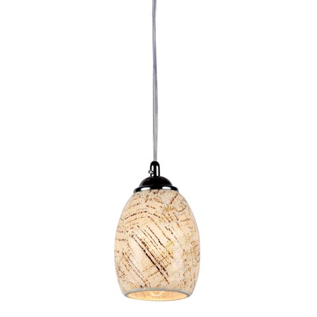 Melia Mosaic 1 Light Ceiling Mini Pendant