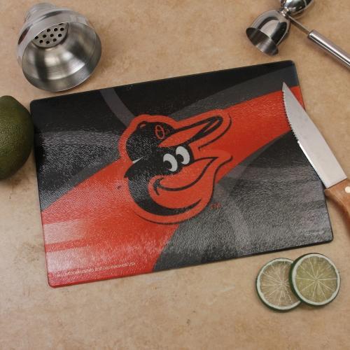 Baltimore Orioles 8'' x 11.75'' Carbon Fiber Cutting Board - No Size