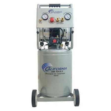 California Air Tools CAT-10020C 2.0HP 10 Gallon Ultra Quiet Steel Tank Air Compressor