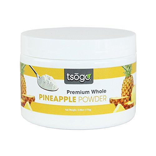Tsogo Premium Pineapple Powder, 170g, 48 Total Servings, Fruit Smoothies - No Added Flavors, Fillers or Sugars