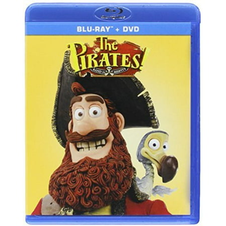 The Pirates: Band of Misfits (Blu-ray + DVD)