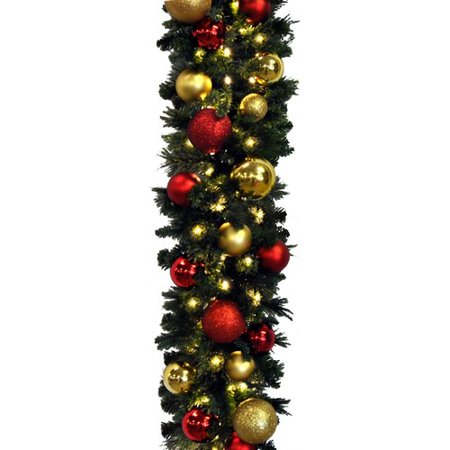 Queens of Christmas Blended Pine Decorated Garland