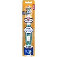 Arm & Hammer Spinbrush Pro Series Daily Clean Battery Toothbrush, Medium, 1 Count