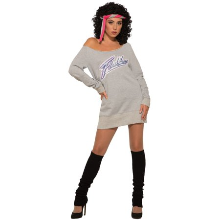 Womens Flash Dance Halloween Costume (Dance Party Halloween)
