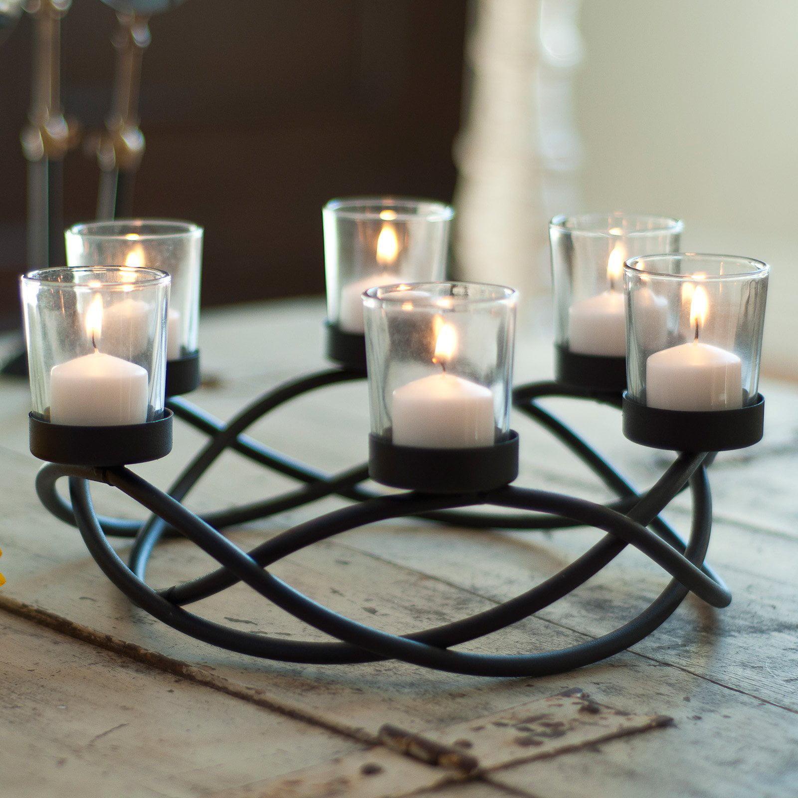 Danya B Round Waves Candle Holder by Danya B