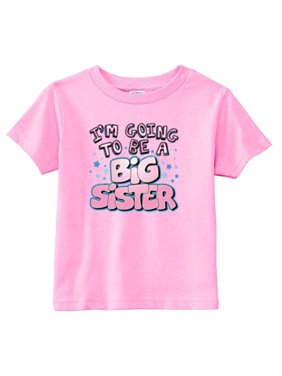 72def7ba Product Image Lil Shirts I'm Going to Be A Big Sister Youth & Toddler  Graphic Tee