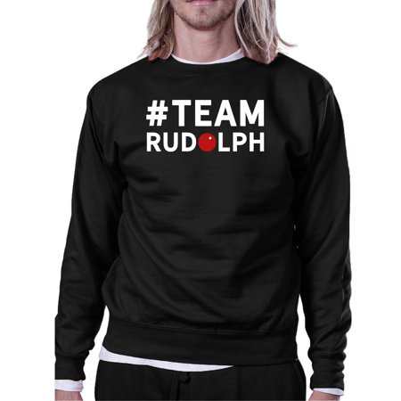 #Team Rudolph Sweatshirt Family Or Group Matching Christmas Gift ()