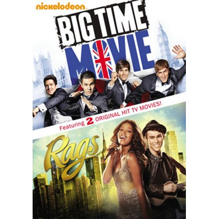 Big Time Movie / Rags (DVD) - Big Time Rush Halloween Music