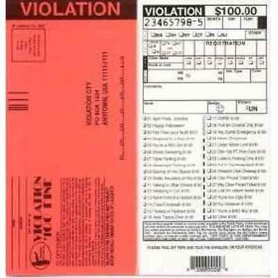 Fake parking tickets set of 100 new walmart fake parking tickets set of 100 new altavistaventures Images