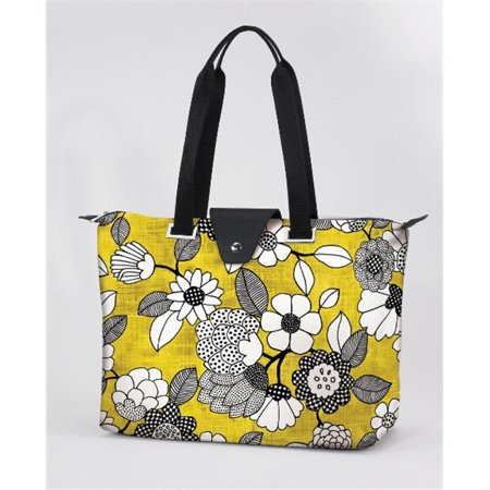 Joann Marrie Designs Hamybf Hampton Bag   Yellow And Black Floral  Pack Of 2
