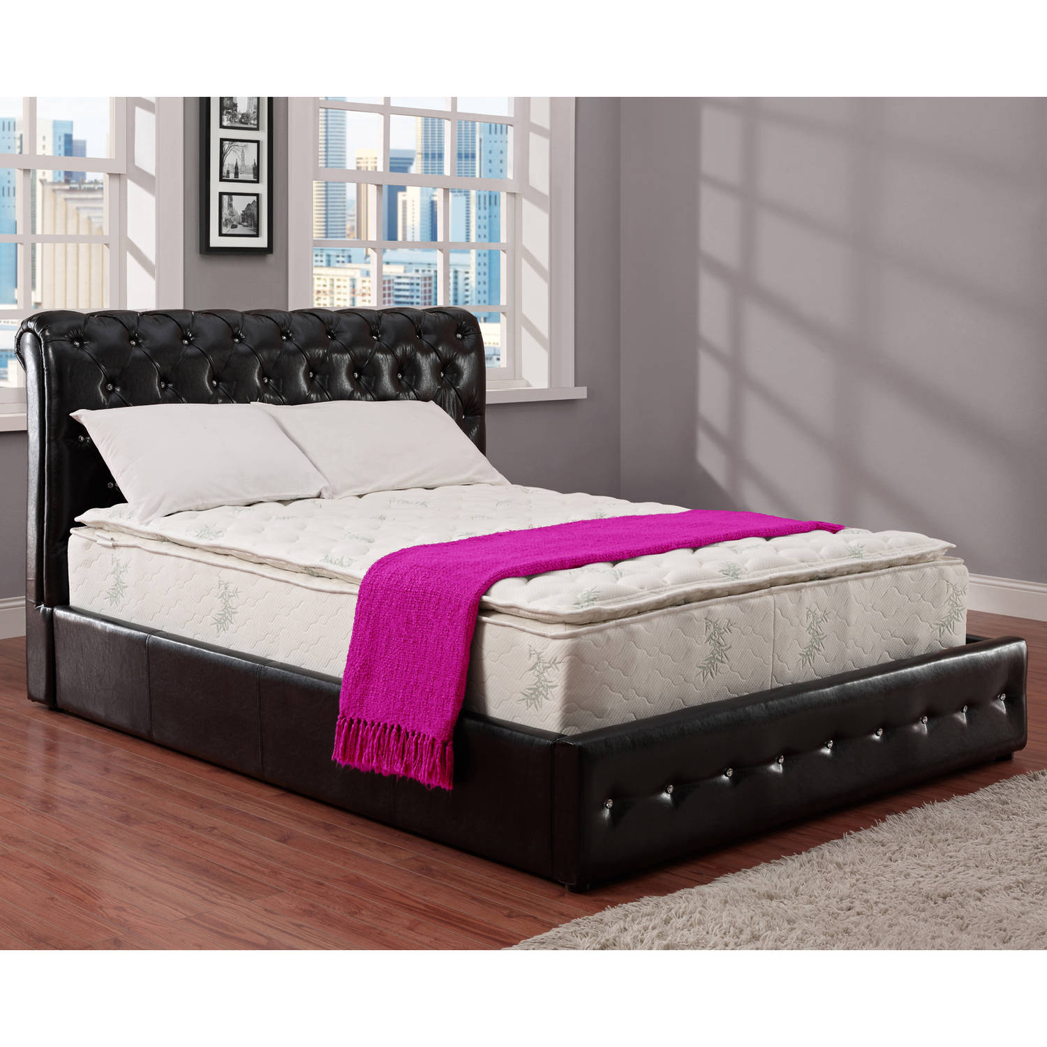 "Signature Sleep - 13"" Independently-Encased Coil Pillow Top Mattress"