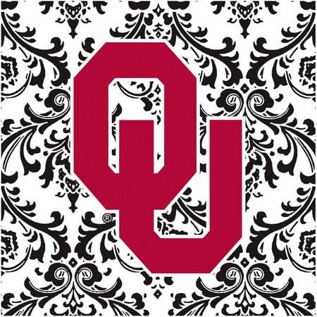 Stoneware Trivet, University of Oklahoma Pattern