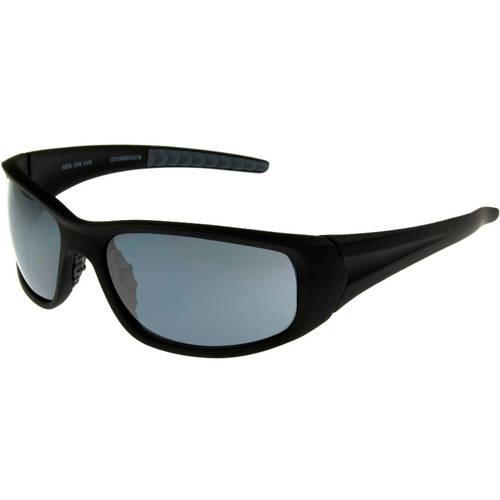 Foster Grant Sport Square Sunglasses, Black