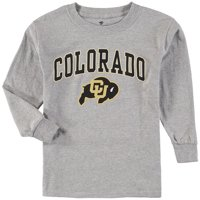 Colorado Buffaloes Fanatics Branded Youth Campus Long-Sleeve T-Shirt - Gray
