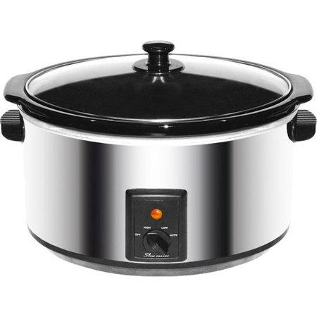 Brentwood SC-170S 8 Quart Slow Cooker - Stainless Steel Body - image 1 of 1