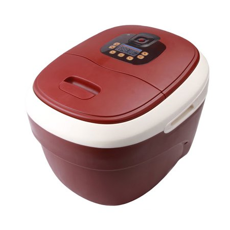 Carepeutic Ozone Waterfall Foot And Leg Spa Bath Massager