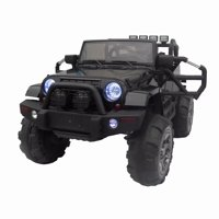 Bocgsfdfgns Kids RC Car,12V Battery Powered Kids Ride On Car RC Remote Control LED Lights Music for 3-8 Years old