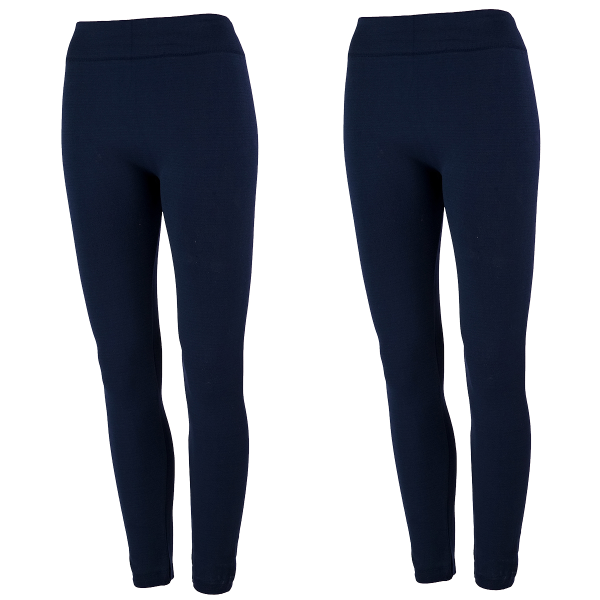 2 Pk True Rock Women's Fleece Lined Leggings