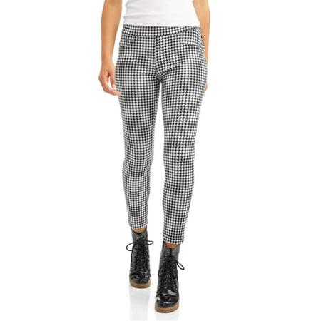 546882a517ca7 No Boundaries - No Boundaries Juniors' Pull-On 5 Pocket Stretch Ponte  Skinny Pants - Walmart.com