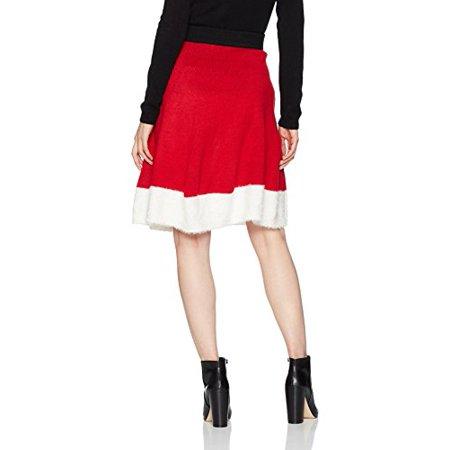 9caaef7da Blizzard Bay Women's Christmas Circle Skirt, Christmas Red, S ...