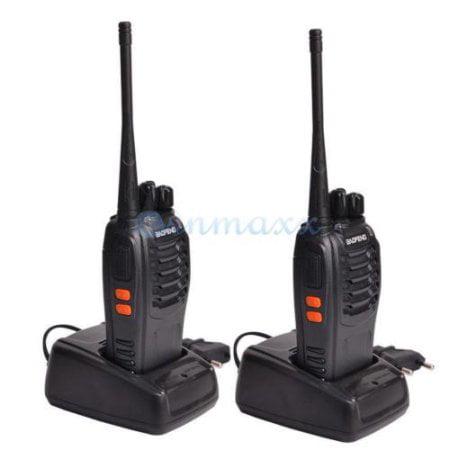 Zimtown 2x Baofeng BF-888S UHF 400-470MHz 5W Handheld Two-way Ham Radio HT  Walkie Talkie