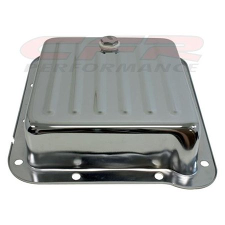 CFR HZ-9531-C Ford C4 Steel Transmission Pan, Case Fill Style -