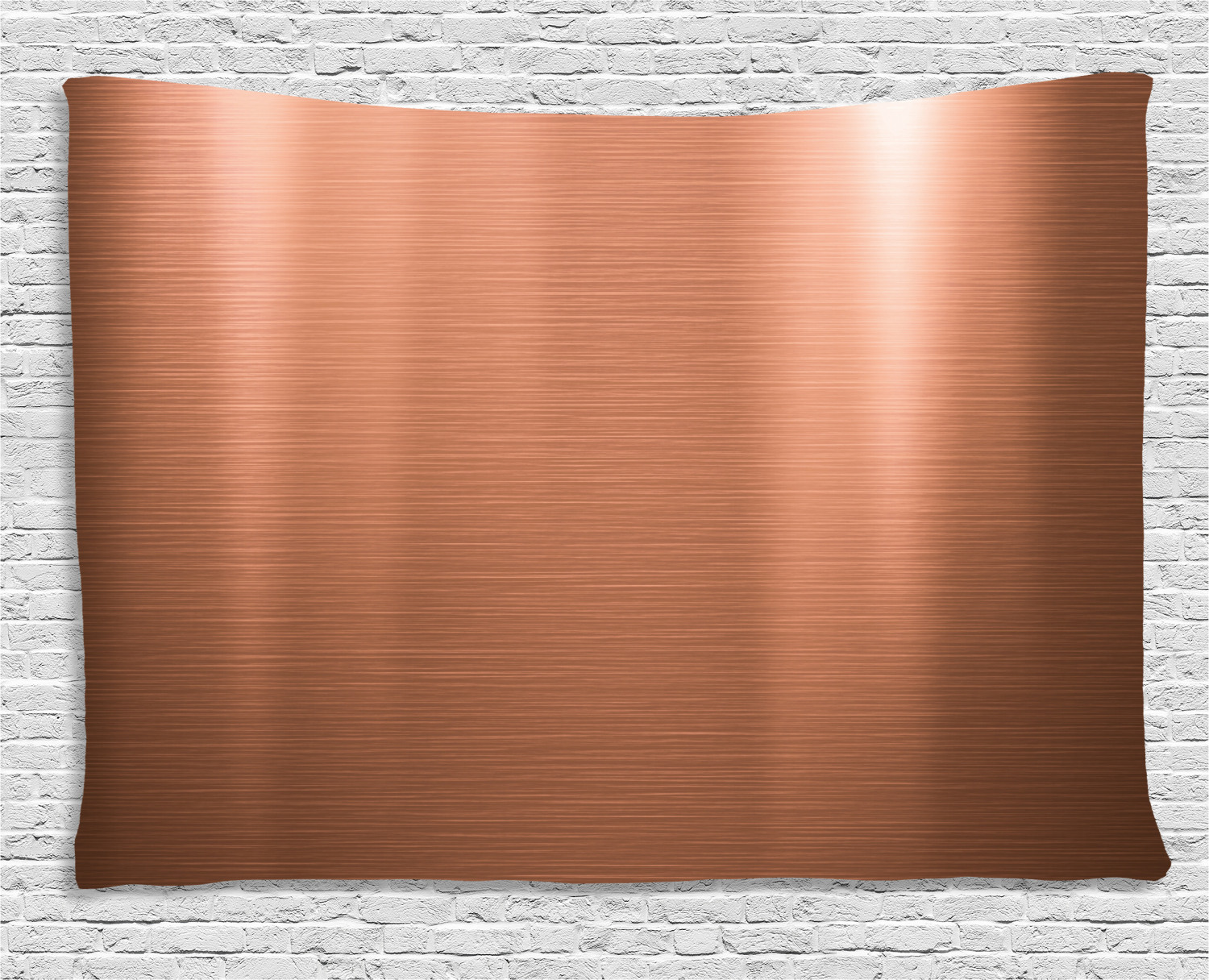 Copper Decor Tapestry Brushed Copper Plate Facade Image Tough Industrial Element Modern Wall Hanging For Bedroom Living Room Dorm Decor 80w X 60l Inches Bronze Light Bronze By Ambesonne Walmart Com