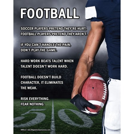 Unframed Football Player 8