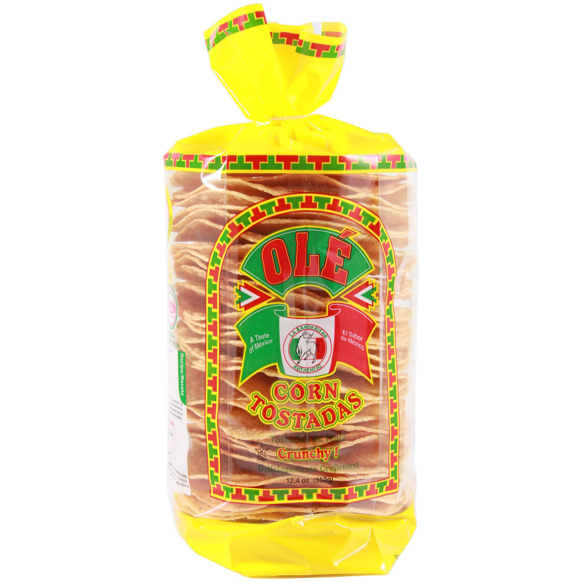Ole Corn Tostadas, 12.4 oz, (Pack of 6)