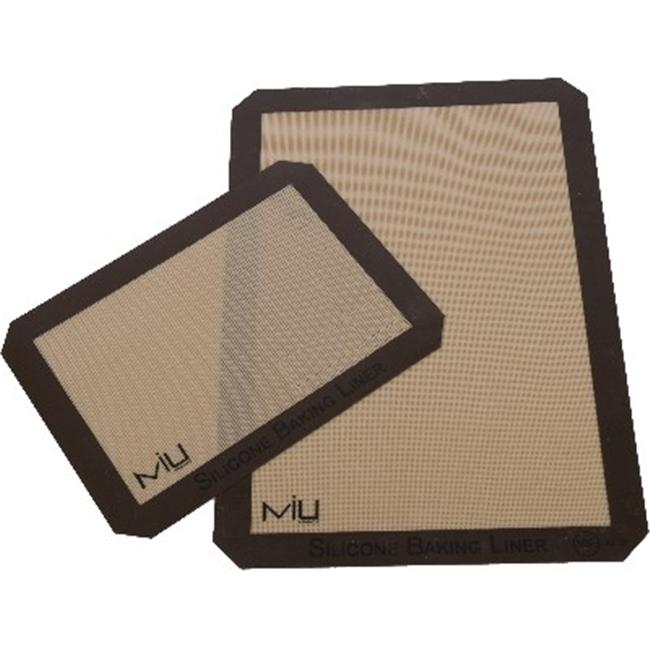 MIU France 99120 Silicone Baking Liner Set -  2-Piece