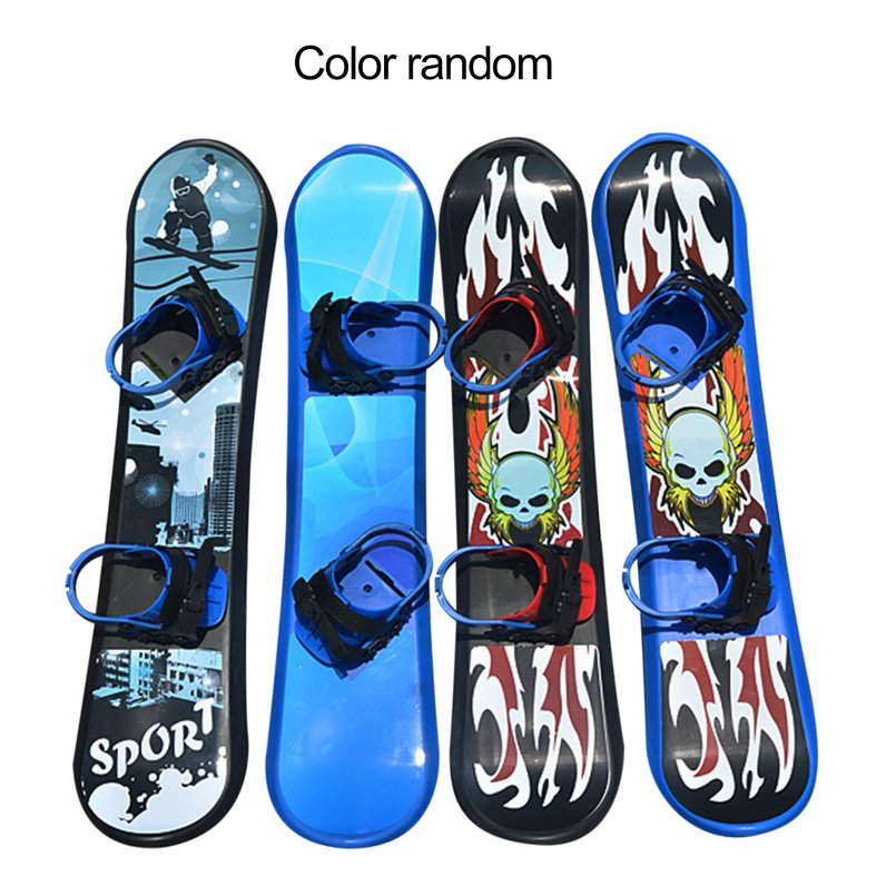 95CM Outdoor Sports Plastic Snow Sled Two-way Snow Slider Snowboard for Children & Adults by