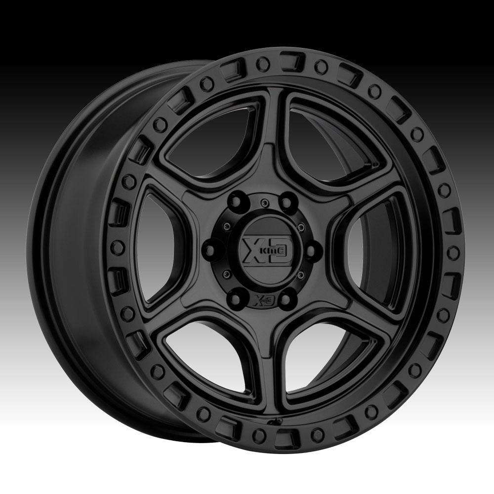 KMC XD XD139 Portal Satin Black 16x8 6x5.5 -6mm (XD13968068706N)