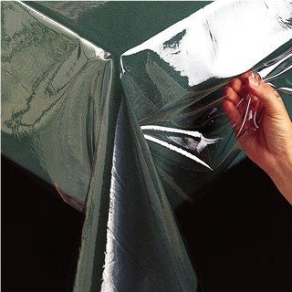 70'' Round Vinyl Tablecloth Protector