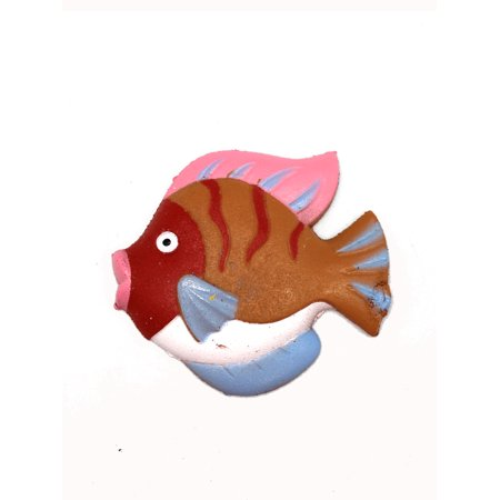 Pink Brwon & Red Fish Growing Water Toy by Ganz
