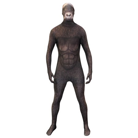 Original Morphsuits Silverback Gorilla Adult Suit Animal Planet - Spongebob Gorilla Suit