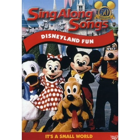 Sing Along Songs Disneyland Fun: It's a Small World (DVD) - Popular Halloween Songs From Movies